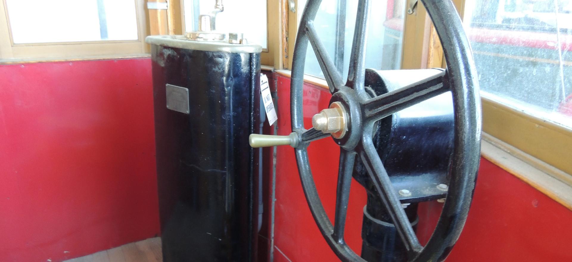 Cupola Interior of Trolley Car #1