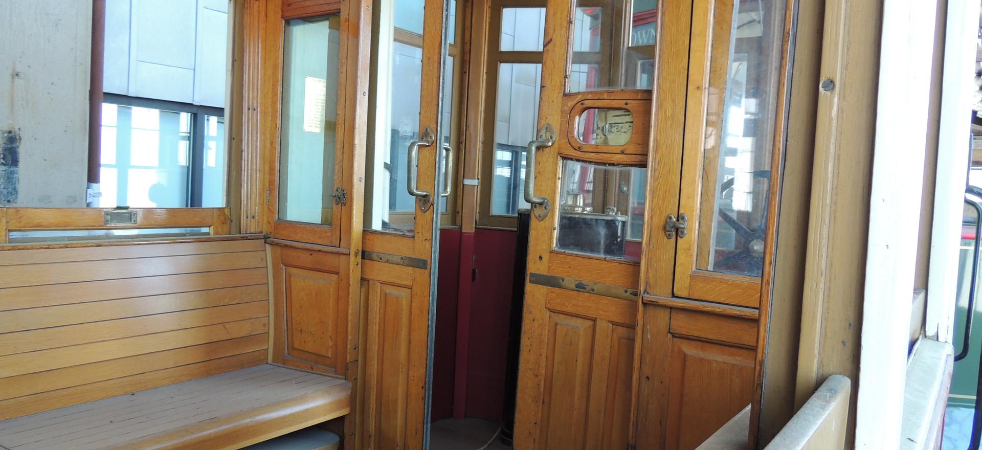 Interior of Trolley Car #1