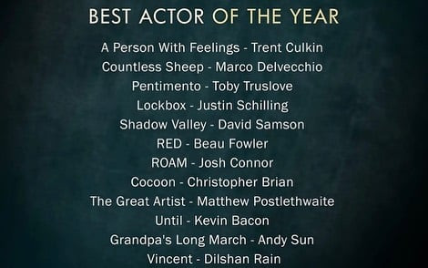 Best Actor of the Year