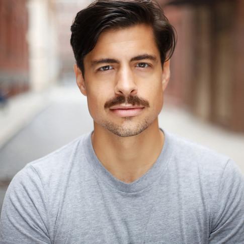 w/Mustache