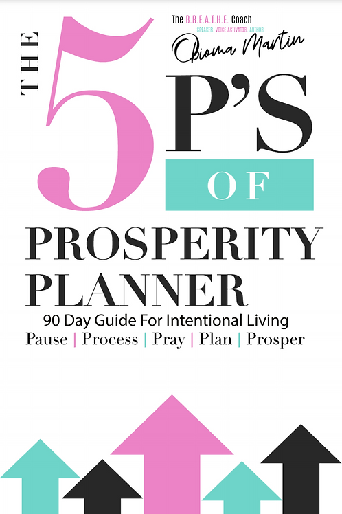 The 5P's of Prosperity 90 Day Planner