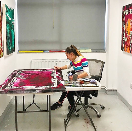 Gabrielle in Studio