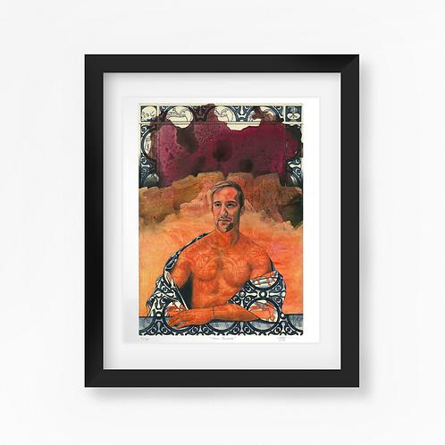 Jean-Baptiste - Limited Edition of 45 Art Print - Framed