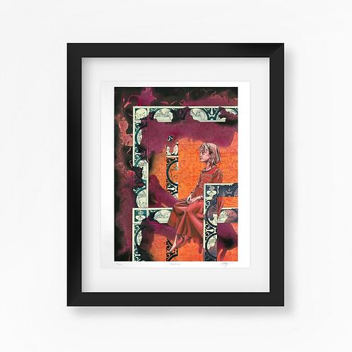 Baptism - Limited Edition of 50 Art Print - Framed