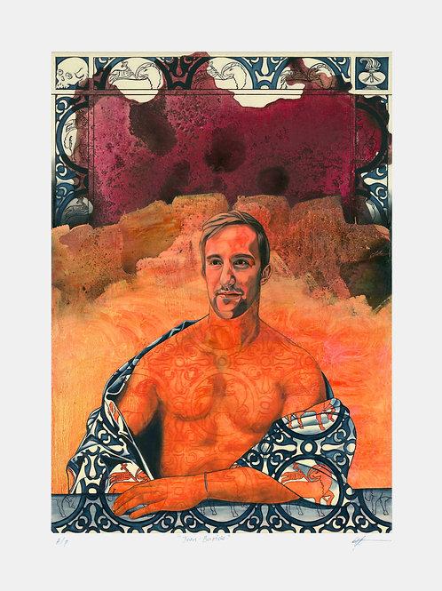 Jean-Baptiste - Limited Edition of 45 Art Print - Unframed