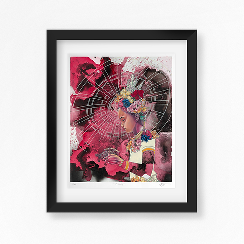 11th Spring - Limited Edition of 45 Art Print - Framed