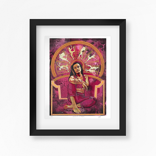 Self Portrait with Allegories - Limited Edition of 50 Art Print - Framed
