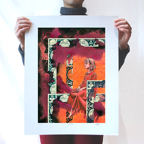 Baptism - Limited Edition of 50 Art Print - Unframed