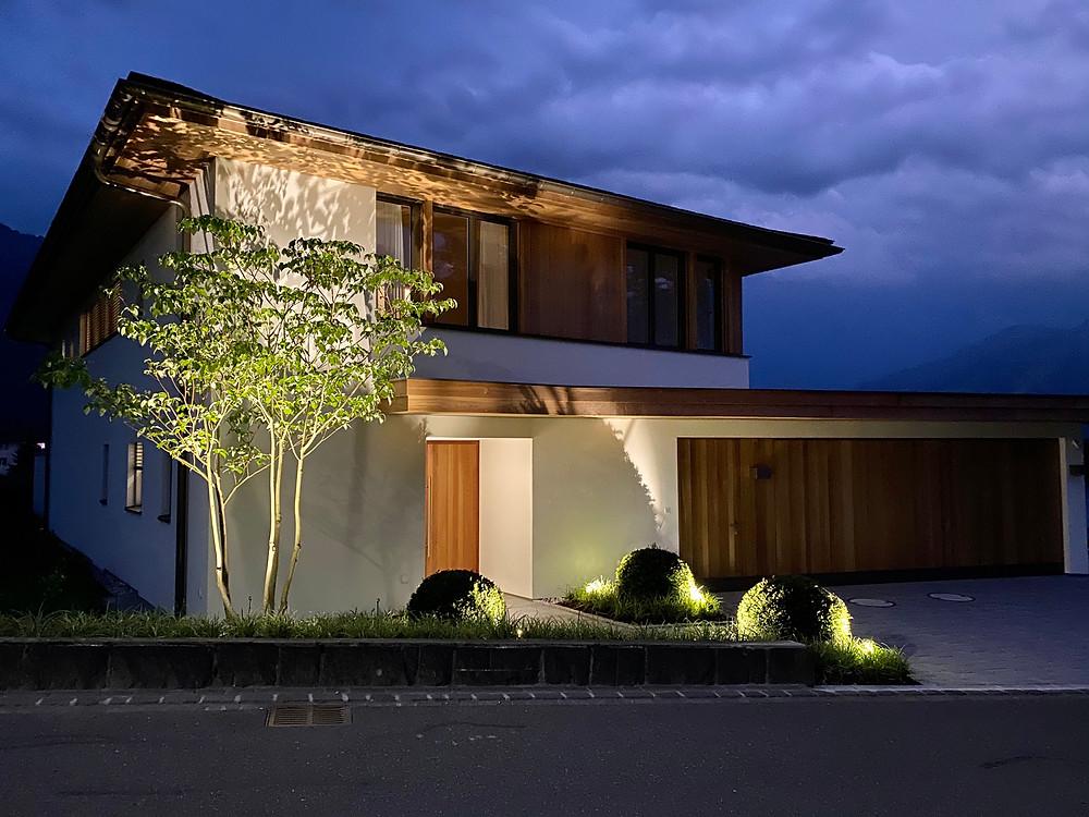 Aussenbeleuchtung Haus