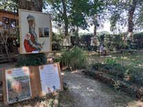 Exposition en plein air : Aout 2020 SUR UN LIVRE PERCHÉ, Saubion.