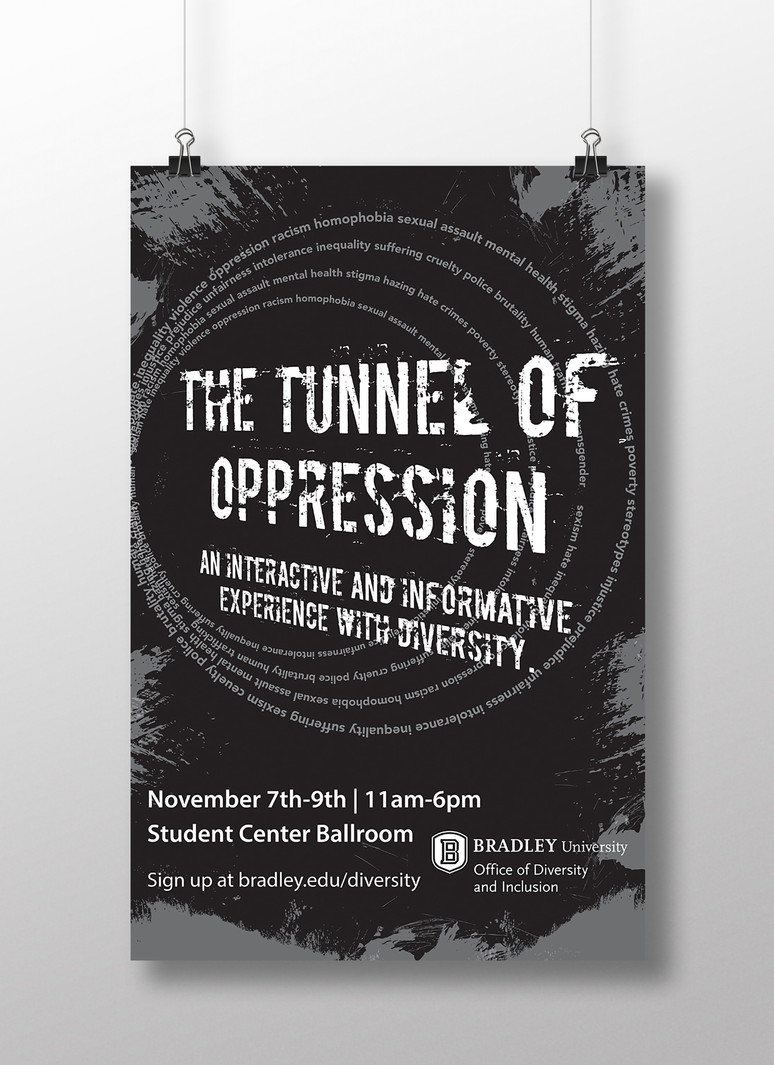 Tunnel of Oppression Poster