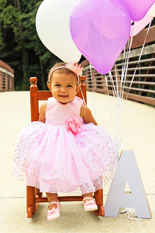 Alyssa, First Birthday