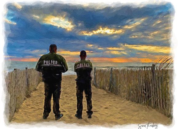 Police Beach Beat