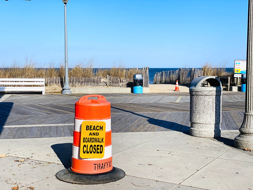 Rehoboth Beach Closed