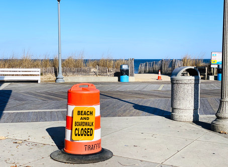 Rehoboth Beach Closed - Spring 2020