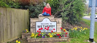 Zoe Bishop in Wetherby, Yorkshire