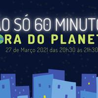 Hoje às 20:30    Hora do Planeta 🕣🌍