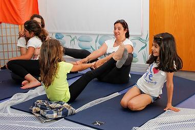 estúdio do risco - yoga crianças odivelas