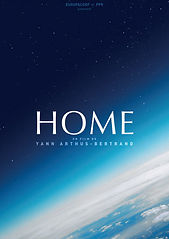 Image of the movie poster for Home. It shows earth from outer space