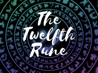 My Front cover for The Twelfth Rune