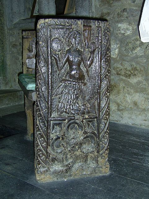 Mermaid Pew - Zennor Church