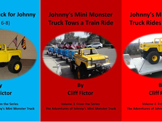 Blog Tour with Cliff Fictor and Mini Monster Truck