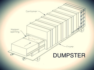 Dumpster - short story shout out for beta reader