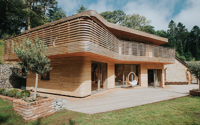 Wooden Buildings We Love at DTQ Designs