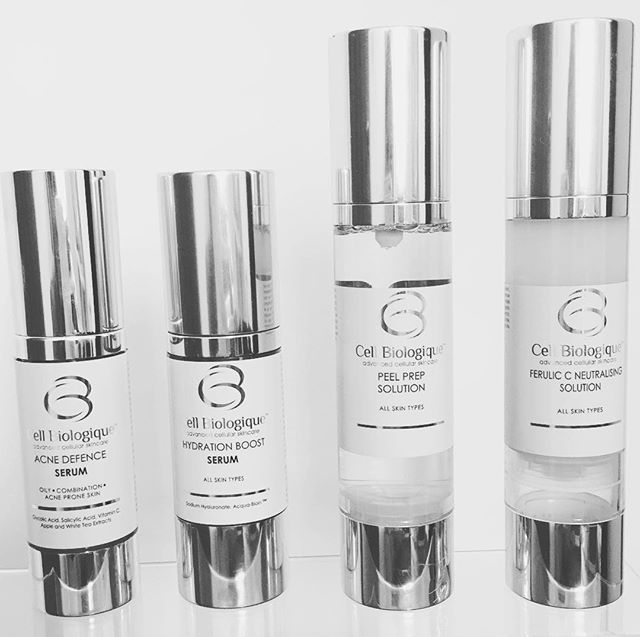 Getting such amazing results with this range by Cell Biologique! #scientificskincare #ukproducts #ce