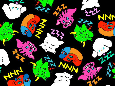 NUEZZZ x GHOST GiRL GOODS Collaboration - DAY DREAMZZZ