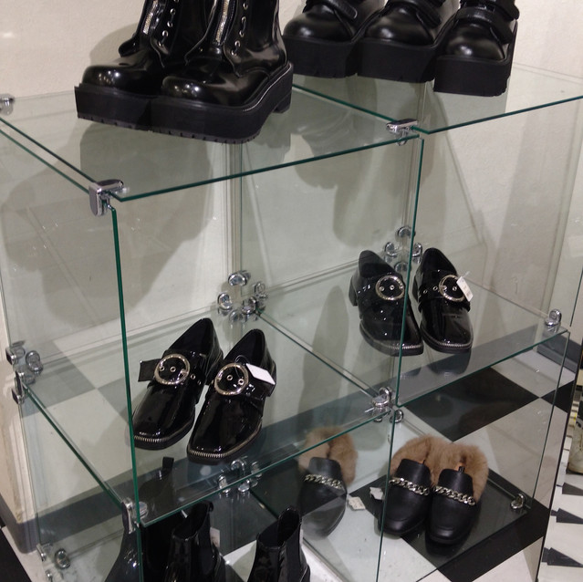 They also sell shoes that match perfectly with all their styles!