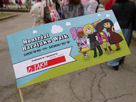 Montreal Harajuku Walk - May 18th 2019