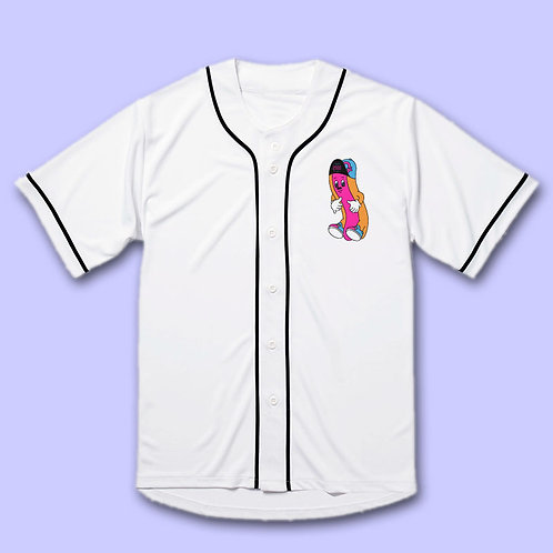 NUEZZZ - KIDPUP G-Dog Baseball Shirt