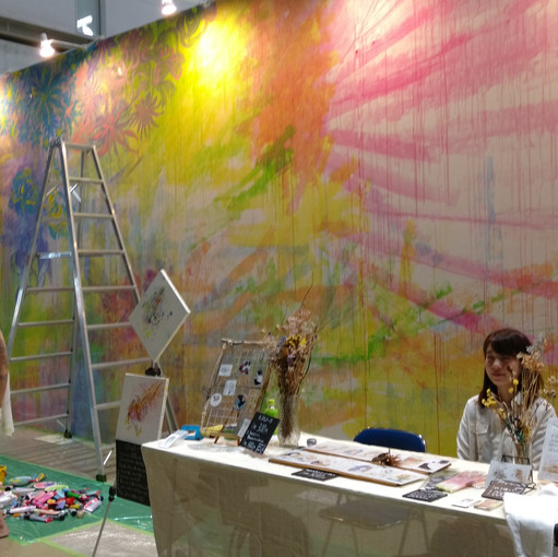 More giant live painting walls