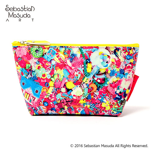 6%DOKIDOKI - Colorful Rebellion -THANK YOU ALL- Pouch