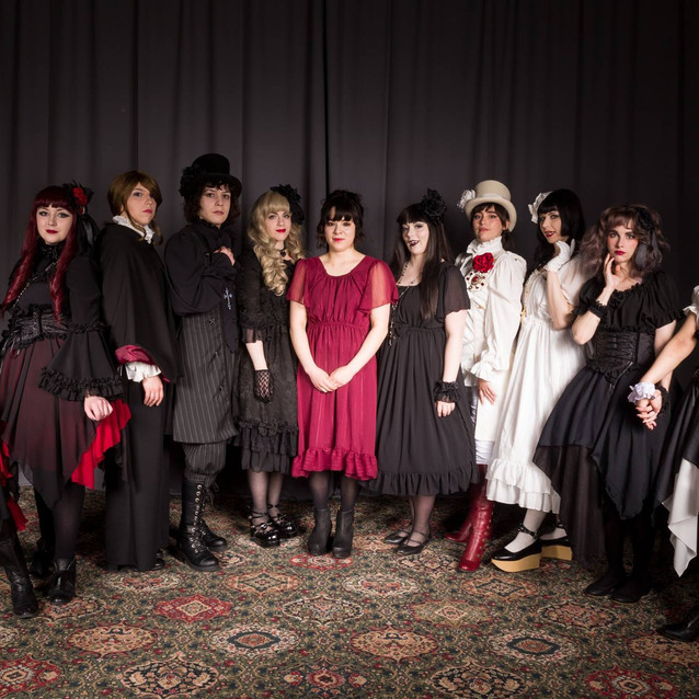 Anime North 2017 Fashion show with a vampire theme!