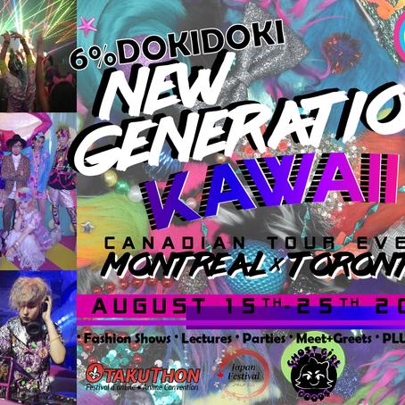 6%DOKIDOKI NEW GENERATION KAWAII Canadian Tour Event
