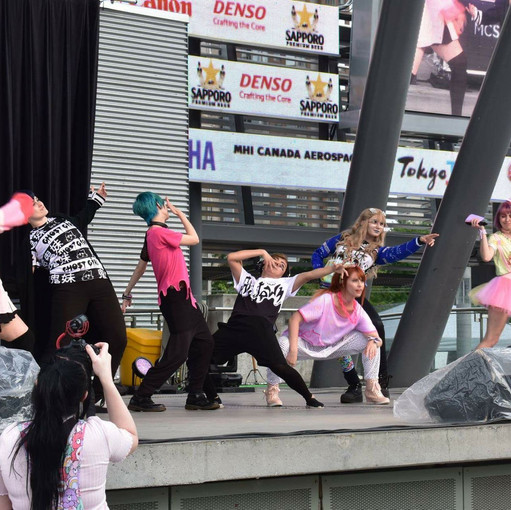 Japan Festival fashion show that I organized and hosted!