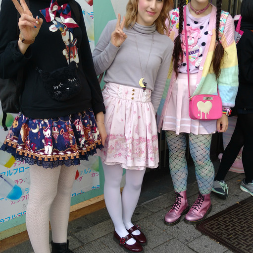 These girls were from Spain! (I didnt get a chance to talk to the girl on the left as much) The girl in the middle and to the right both live in Japan right now!