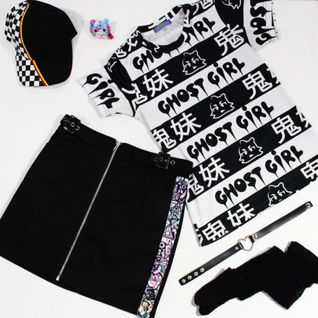 GHOST GiRL Styles: Cool - 6%DOKIDOKI x GGG
