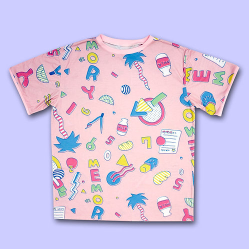 NUEZZZ - STATiONERY MEMORY All Over Print T-Shirt