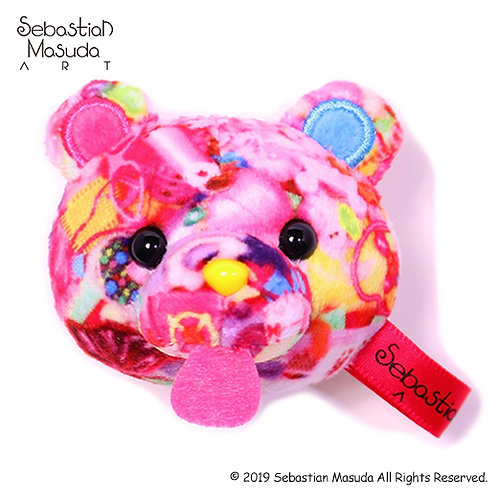 6%DOKIDOKI - Time After Time Capsule -Bear- #Desire Mascot Clip & Brooch