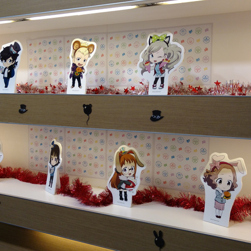 More character displays around the store!