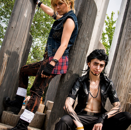 When I was at Yeticon, I decided to cosplay as Gladiolous from FFXV, as well as Morgana from Persona 5!! It was a lot of fun, and lots of laughs with my good friend who is cosplaying as Prompto in the photo! To be honest, Yeticon was my most favourite con of the year~! It was just such a great time and lots of wonderful friends to see. I LOVE YETICON!