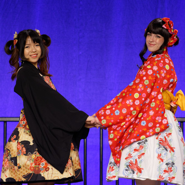 Japanese traditional style outfits
