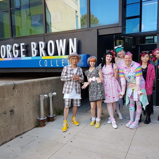 6DOKIDOKI NEW GENERATION KAWAII Tour Toronto George Brown College Kawaii Meets Art and Fashion Lecture