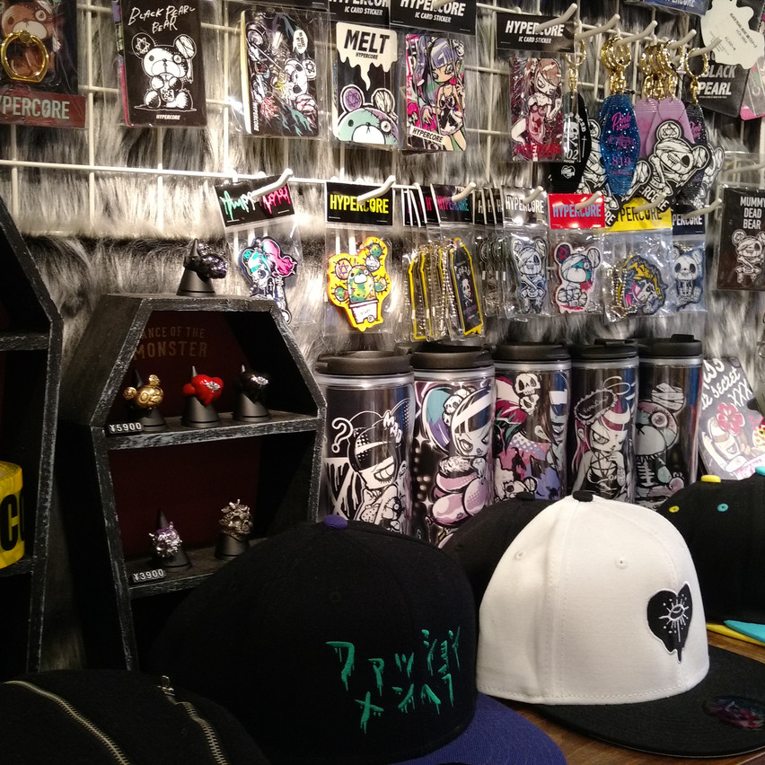 Stickers, hats, and more!