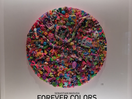 Sebastian Masuda's FOREVER COLOURS Exhibit - August 30th - Sept. 16th 2019