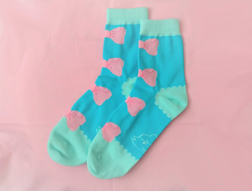Kawaii Bow Socks