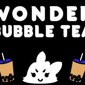 Wonder Bubble Tea x GHOST GiRL GOODS Launch Event Collaboration